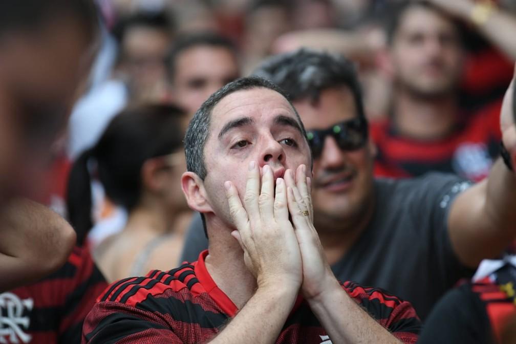 Fim de jogo. Liverpool é campeão mundial  — Foto: Alexandre Durão / G1