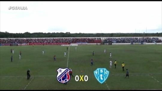 Bragantino-PA x Paysandu - Campeonato Paraense 2019 - globoesporte.com