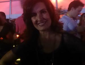 Fátima Bernardes, Rock'n Rio (Foto: Jessica Mello / Globoesporte.com)