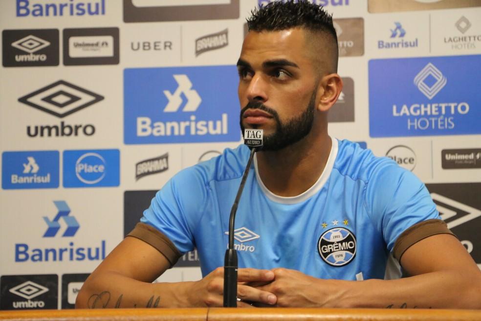 Grêmio Maicon (Foto: Eduardo Deconto)