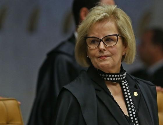 A ministra do Supremo Tribunal Federal Rosa Weber (Foto: José Cruz/Agência Brasil)