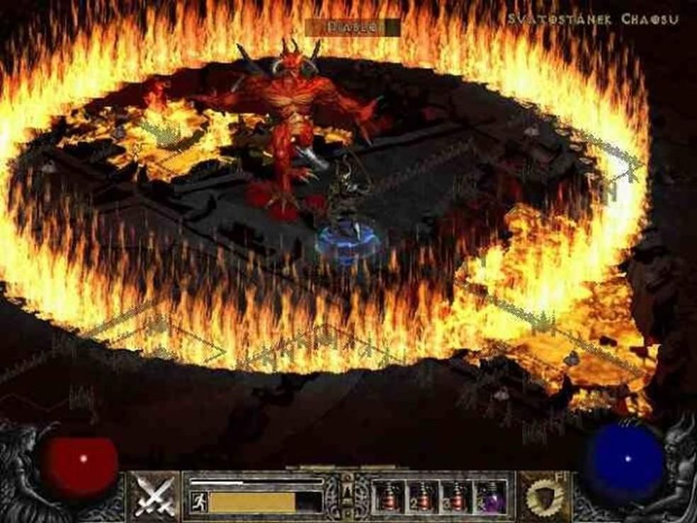 Diablo para Windows 95 (Foto: Reprodução/Blizzard)