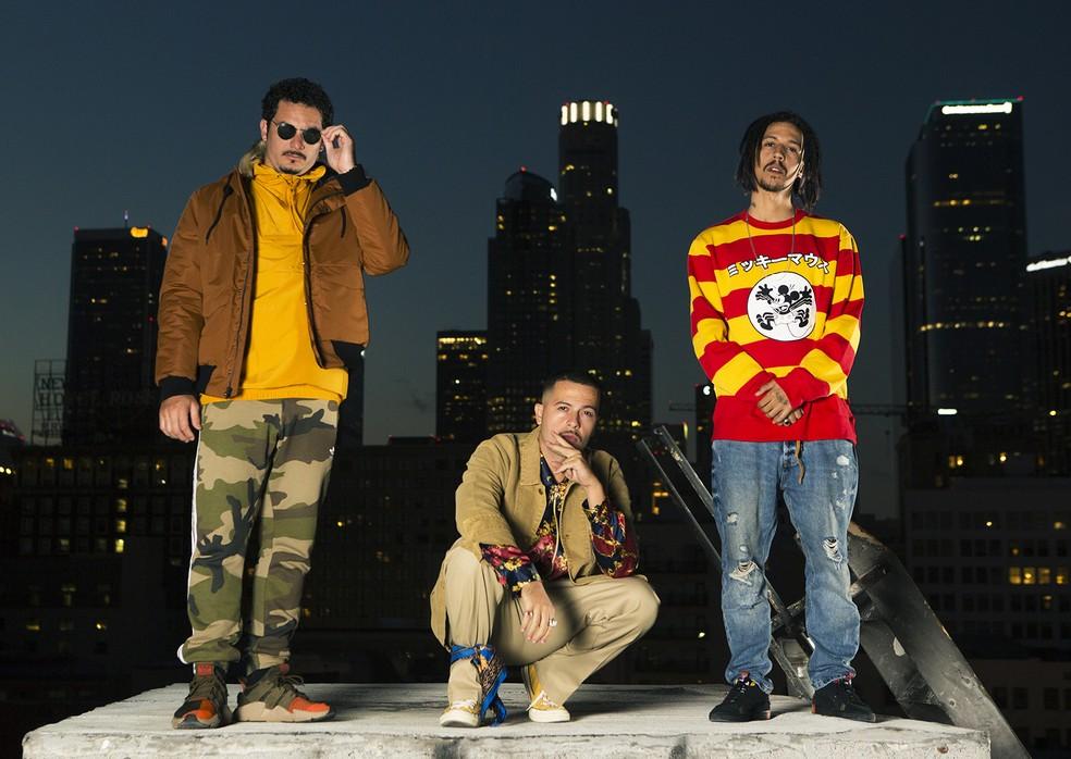 Grupo de rap 3030 lança o álbum 'Tropicalia' em 10 de maio — Foto: Divulgação / Novo Egito