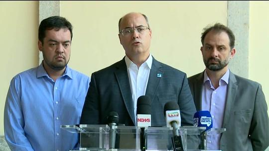 Witzel pede revisão de contratos e  pente-fino em servidores de secretarias do RJ