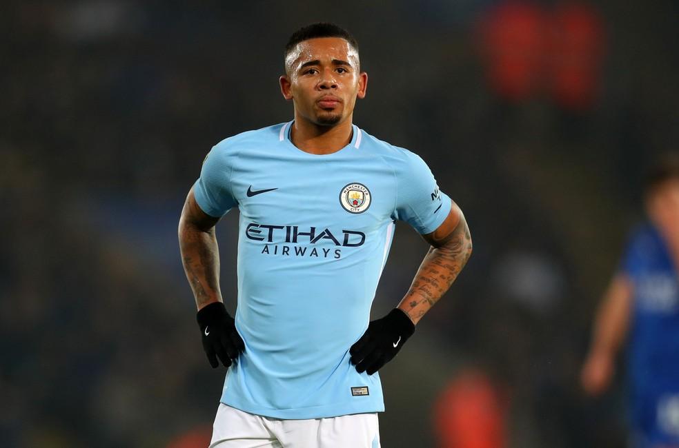 Gabriel Jesus deve assinar o novo contrato com o Manchester City nas próximas semanas (Foto: Getty Images)