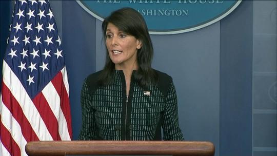 Embaixadora dos EUA diz que ONU esgotou todas suas opções sobre Coreia do Norte