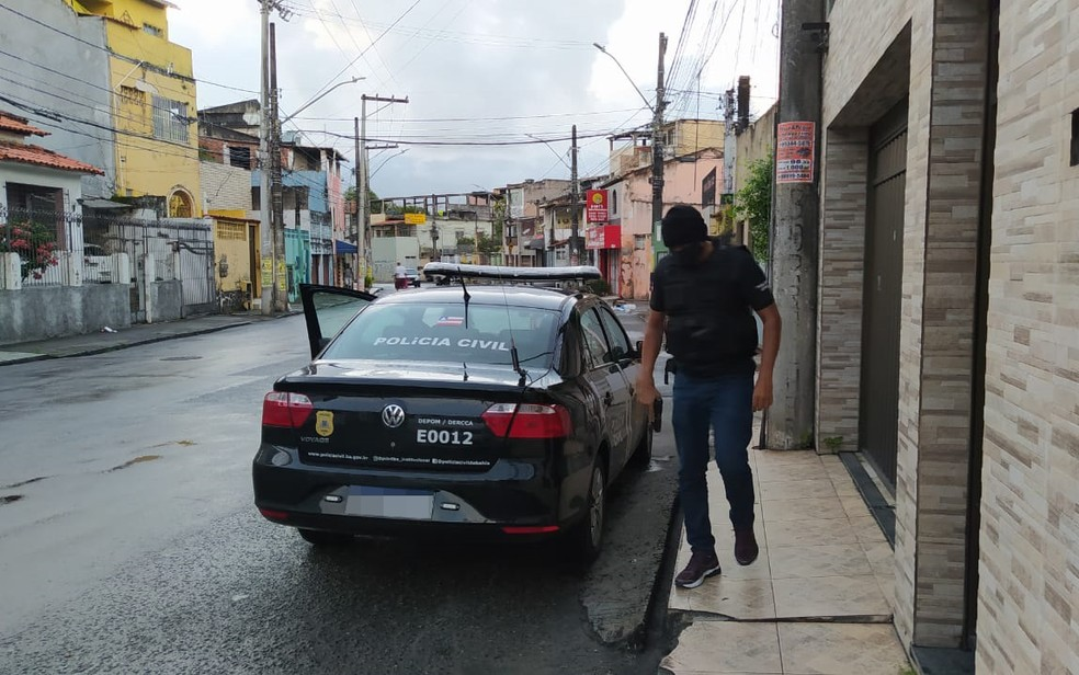 Operação cumpre três mandados de busca na Bahia — Foto: Divulgação/SSP-BA