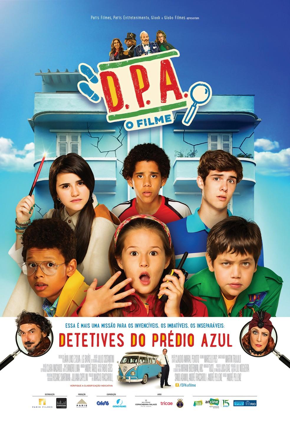 D.P.A. Os Detetives do Prédio Azul