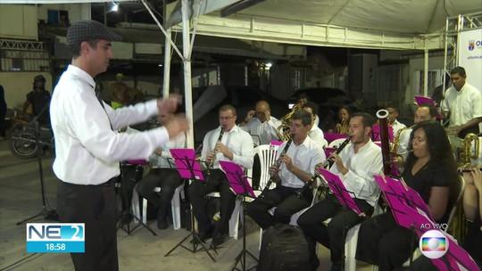Projeto cultural leva música e cinema para Peixinhos, em Olinda