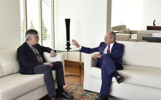 Flávio Rocha e Paulo Hartung (Foto: Reprodução)