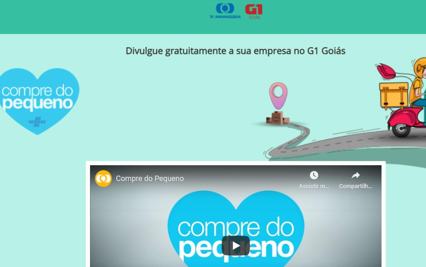 TV Anhanguera lança guia 'Compre do Pequeno' para conectar 2 mil empresas e clientes em Goiás; veja lista