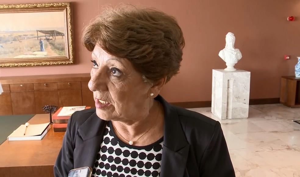 Lúcia Cortez Martins é a nova secretária de Educação (Foto: Reprodução/Governo do Paraná)