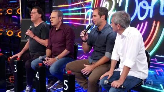 Serginho Groisman e Caio Ribeiro estão na final do 'Super Ding Dong'