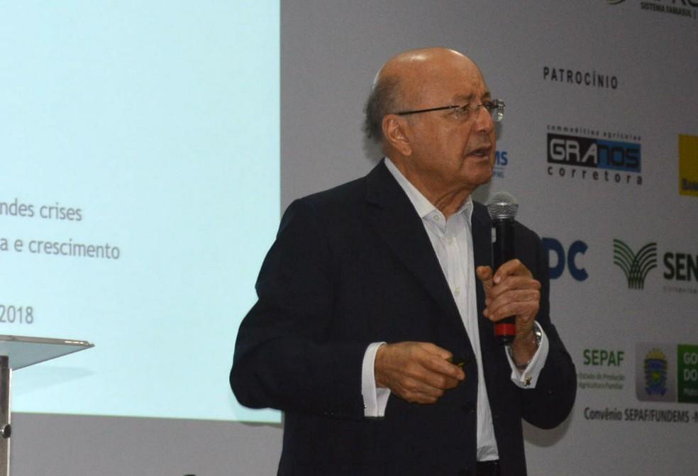 Ex-ministro da Fazenda Maílson da Nóbrega é um dos palestrantes do evento (Foto: Anderson Viegas/G1)