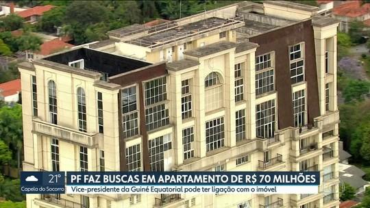 Polícia Federal faz buscas em apartamento avaliado em R$ 70 milhões