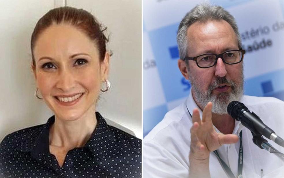 Natalia Pasternak e Cláudio Maierovitch — Foto: Divulgação e Marcello Casal Jr/Agência Brasil