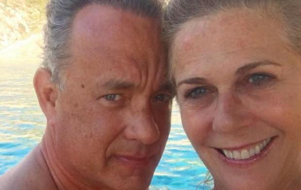 Tom Hanks e Rita Wilson (Foto: Instagram / Reprodução)