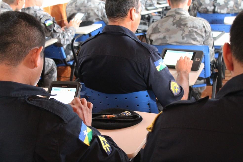 39ec6341a Foto  Fabiano do Carmo Instrumento virtual promete agilizar registro de  ocorrências na cidade. — Foto  Fabiano do Carmo