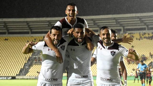 Fluminense vence de virada o Moto Club na estreia da Copa do Brasil