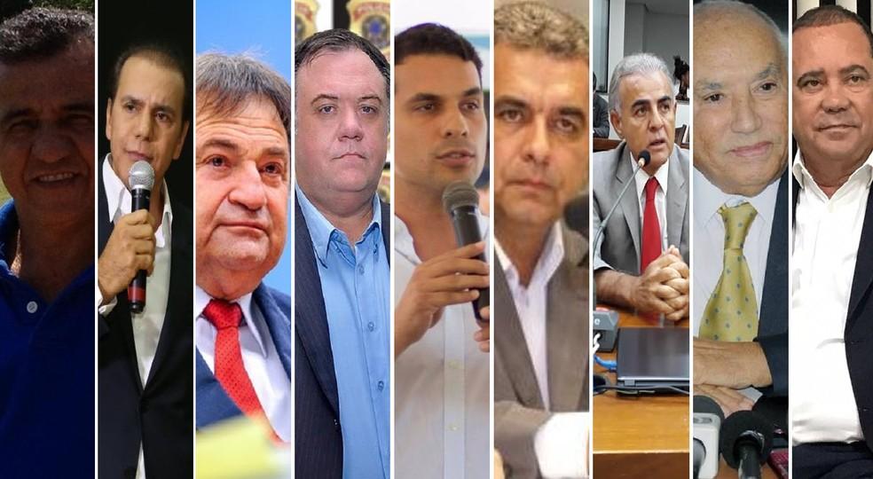 Candidatos ao senado no Tocantins (Foto: Divulgação)