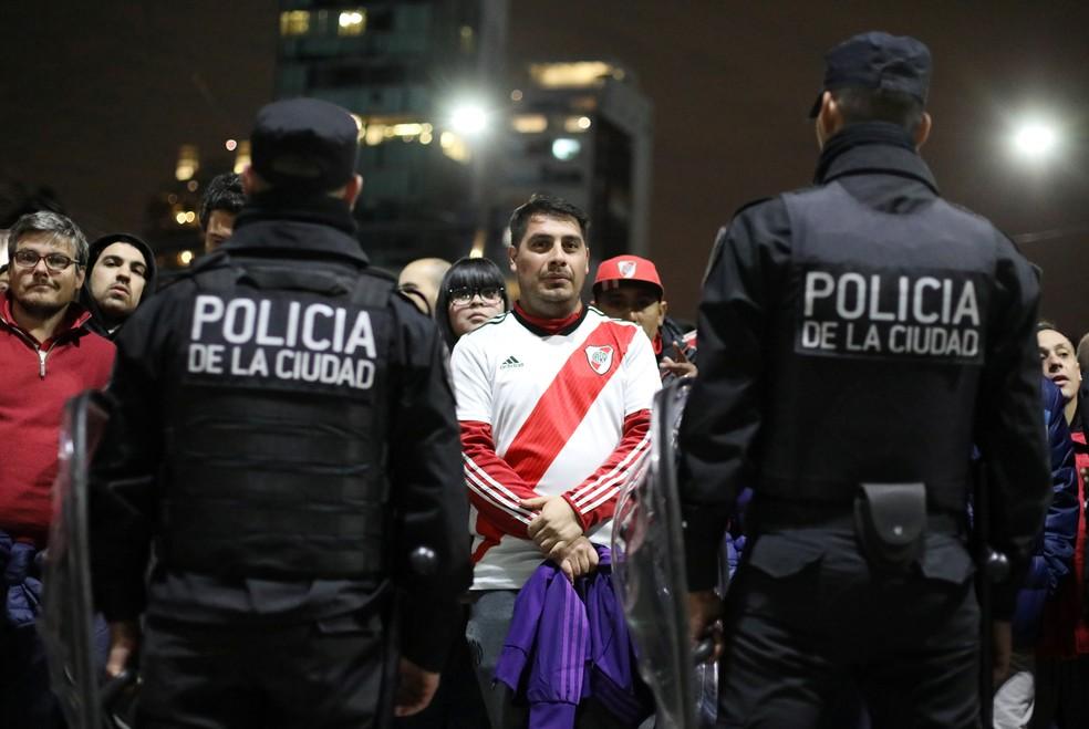 River e Boca começam a decidir nesta terça a primeira vaga na final da Libertadores — Foto: Joaquin Salguero/Reuters