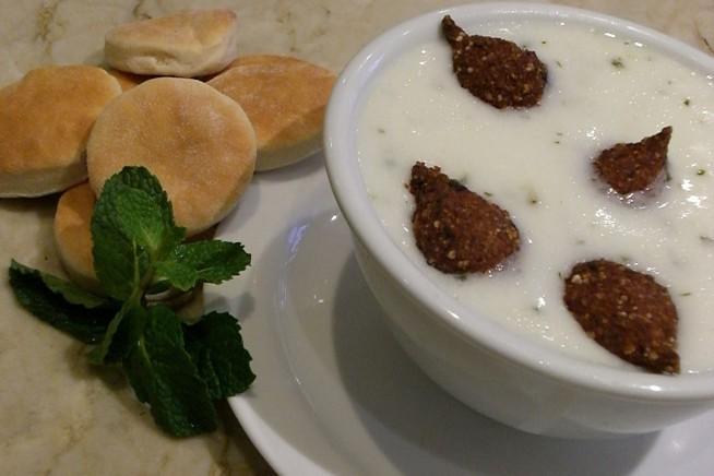 Sopa Kibe Labanie (Foto: Restaurante Arabesco/Divulgação)