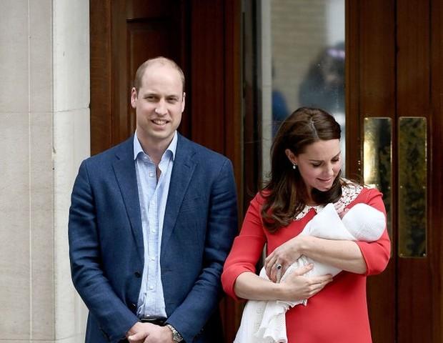 Kate Middleton levou apenas cerca de 6 horas para sair do hospital depois do parto de seu terceiro filho (Foto: Getty Images)