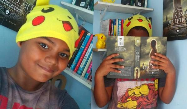 Adiel, de 12 anos, foi vítima de racismo em seu perfil no Instagram (Foto: Reprodução Instagram)