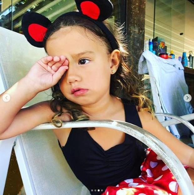 Liz, filha de Luana Piovani e Pedro Scooby (Foto: Reprodução / Instagram)