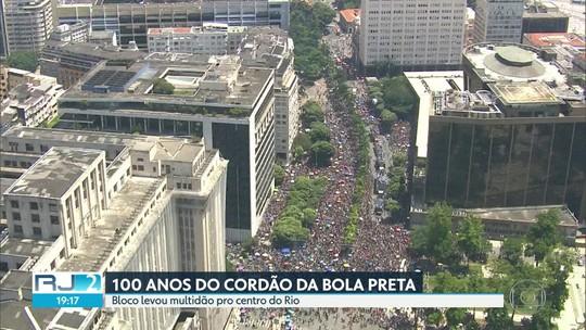 Cordão da Bola Preta comemora 100 anos de carnaval de rua