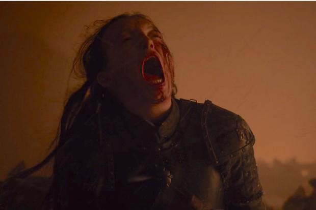 Lady Lyanna no episódio Batalha de Winterfell (Foto: reprodução)