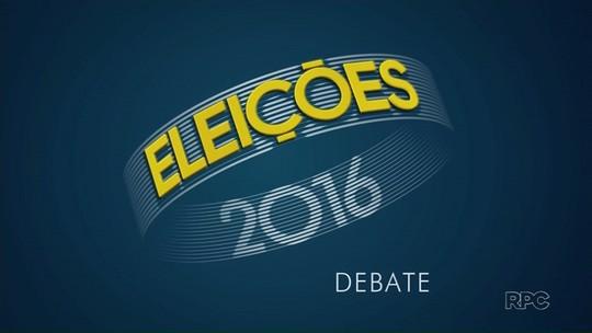 Ulisses Maia é entrevistado na RPC, em Maringá; Barros não foi ao debate