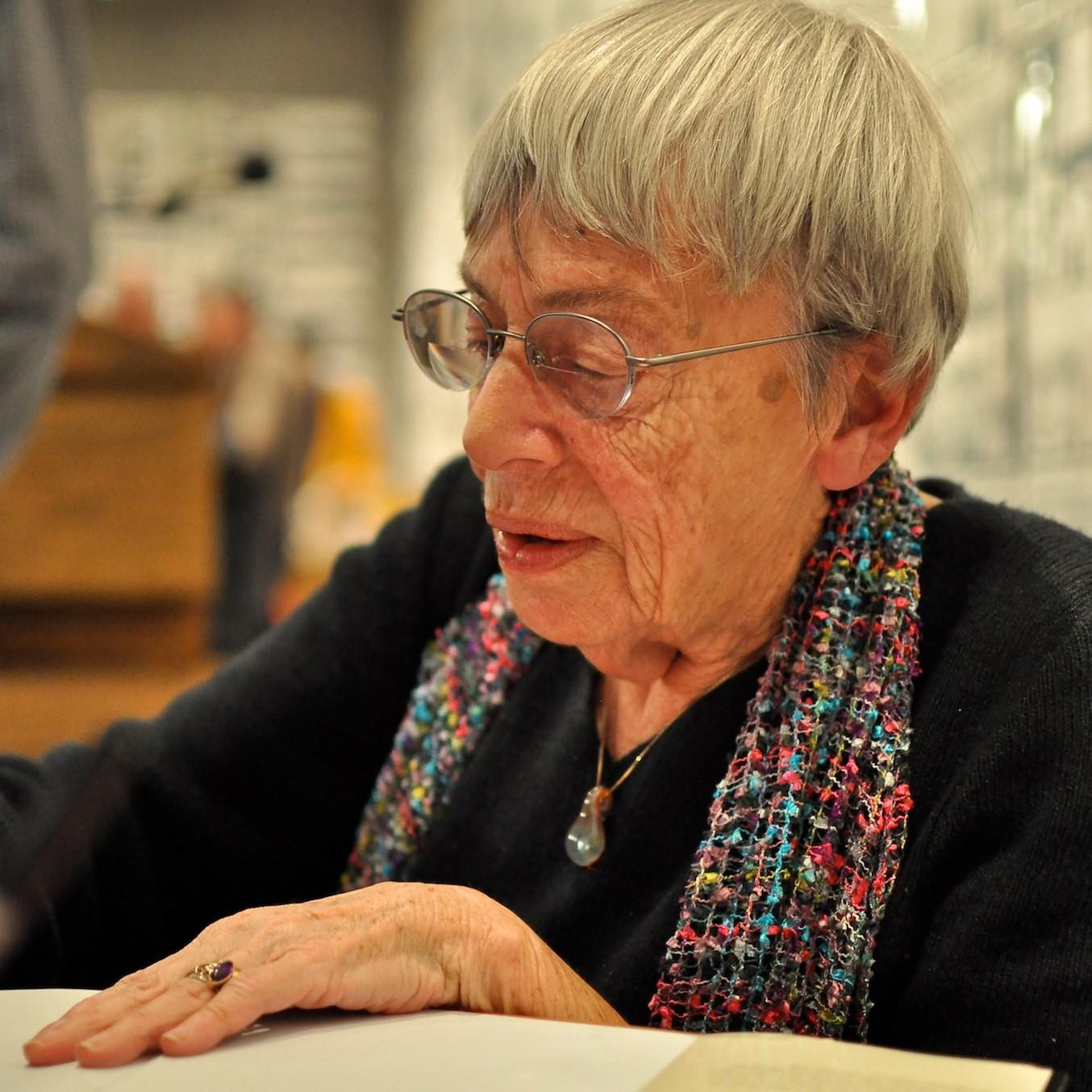 A escritora Ursula K. Le Guin (Foto: Wikimedia Commons )