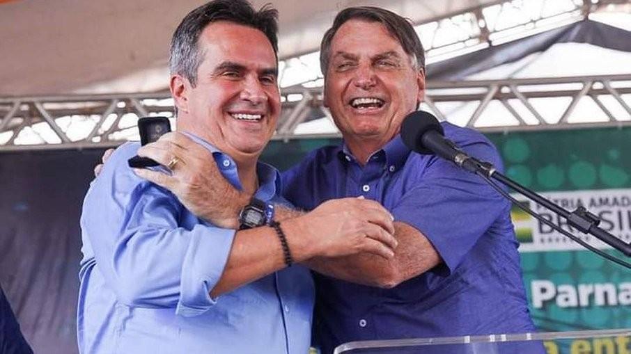 Ciro Nogueira e Bolsonaro