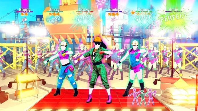 Coreografia de Work Work, de Britney Spears (Foto: Divulgação/Ubisoft)