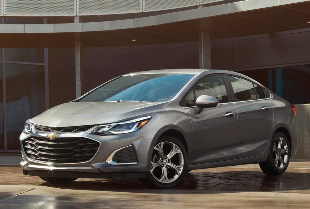Chevrolet Cruze passou por reestilização nos Estados Unidos — Foto: Divulgação/Chevrolet