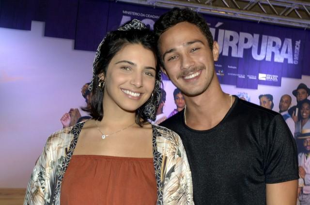 Rayssa Bratillieri e André Luiz Frambach  (Foto: Cristina Granato)