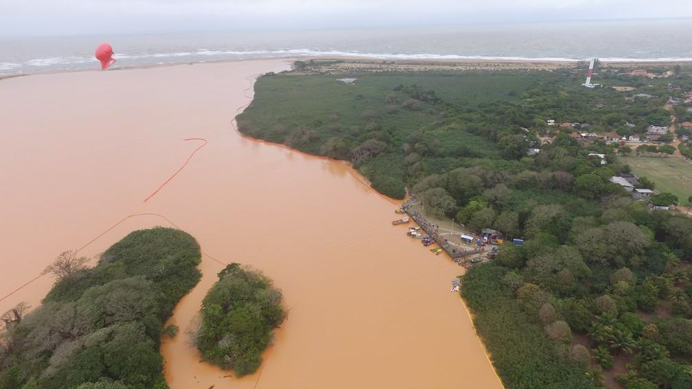 Pesquisa revela que foz do Rio Doce tem até 4 vezes mais