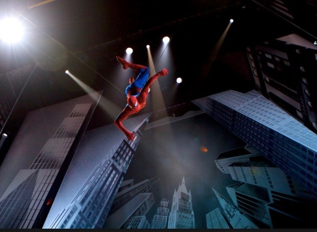 Spider Man – Turn off the Dark, na Broadway (Foto: Divulgação)