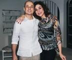 Marisa Orth e Dalua, seu ex-marido   Reprodução/ Instagram