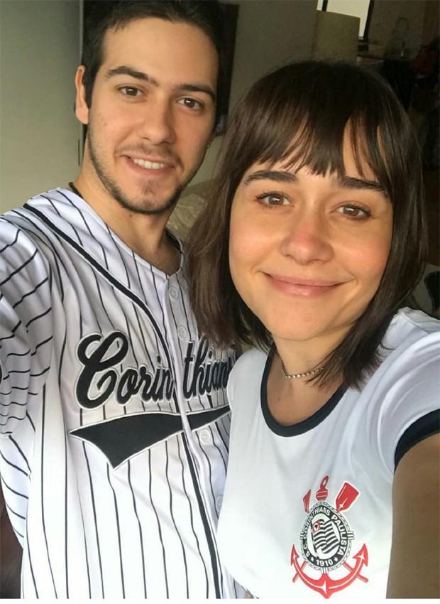 Alessandra Negrini e o filho mais velho, Antonio (Foto: Reprodução/Instagram)