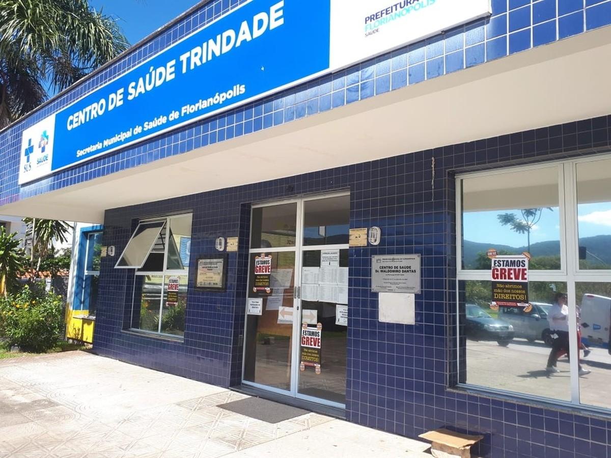 Em greve, servidores de Florianópolis fazem reunião com prefeitura neste domingo