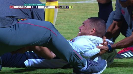 No Sport, Adryelson segue com braço imobilizado, mas deve jogar contra a Ponte Preta
