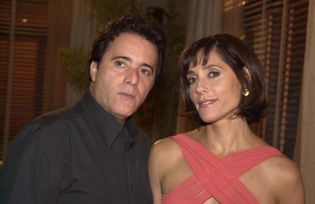 Em 'Mulheres apaixonadas', outra novela de Manoel Carlos, coube a Tony o papel do saxofonista Téo, marido de Helena (Christiane Torloni) (Foto: Gianne Carvalho/ TV Globo)