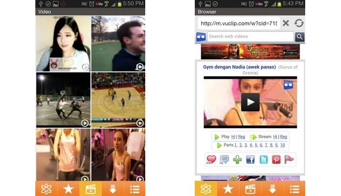 Para Android, Free Video Downloader baixa vídeos de qualquer site (Foto: Divulgação)