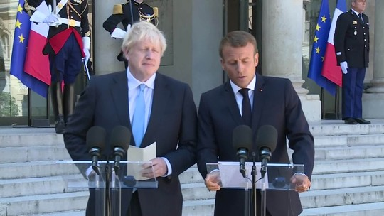 Boris Johnson tenta negociar com a UE pontos importantes do Brexit