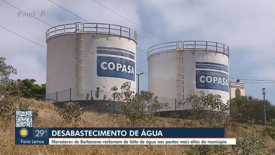 Barbacena, Viçosa e Juiz de Fora enfrentam problemas com abastecimento de água