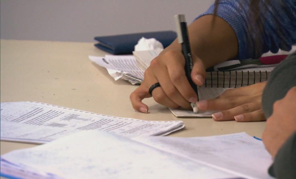 Cabedelo, PB, retoma aulas presenciais da rede municipal — Foto: TV Globo/Reprodução
