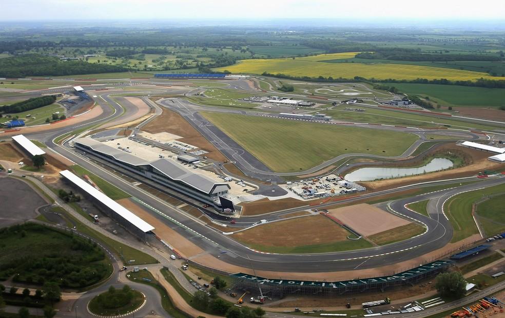 Circuito de Silverstone — Foto: Silverstone Circuit via Getty Images