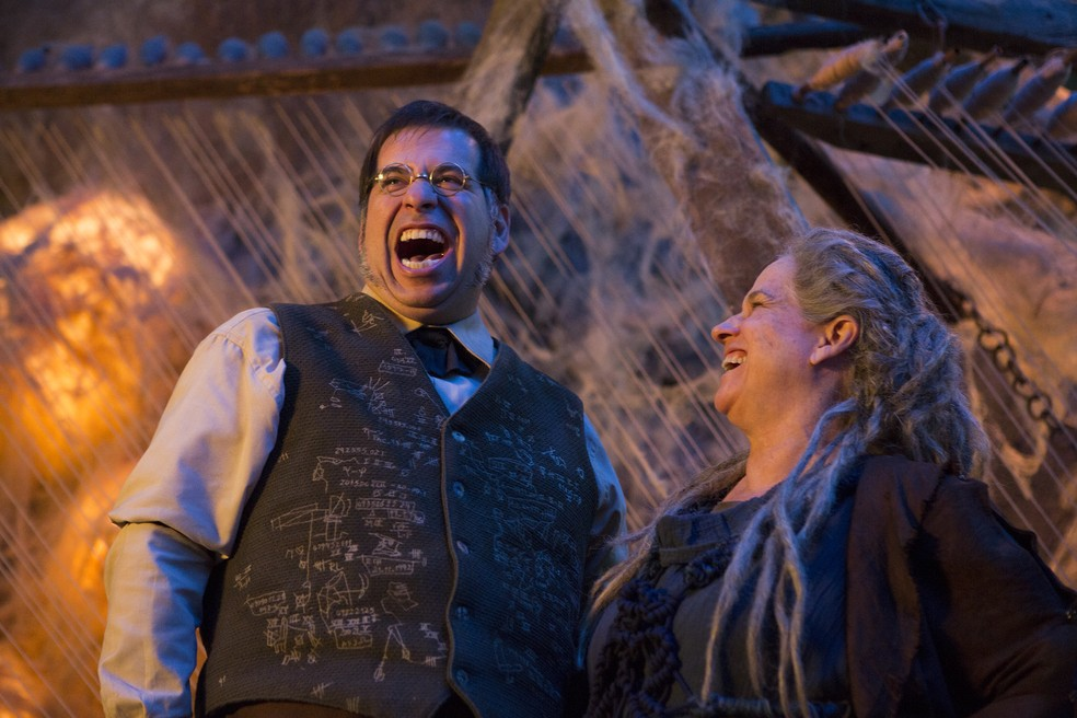 Leandro Hassum e Vera Holtz em cena de 'Malasartes e o duelo com a morte' (Foto: Divulgação)